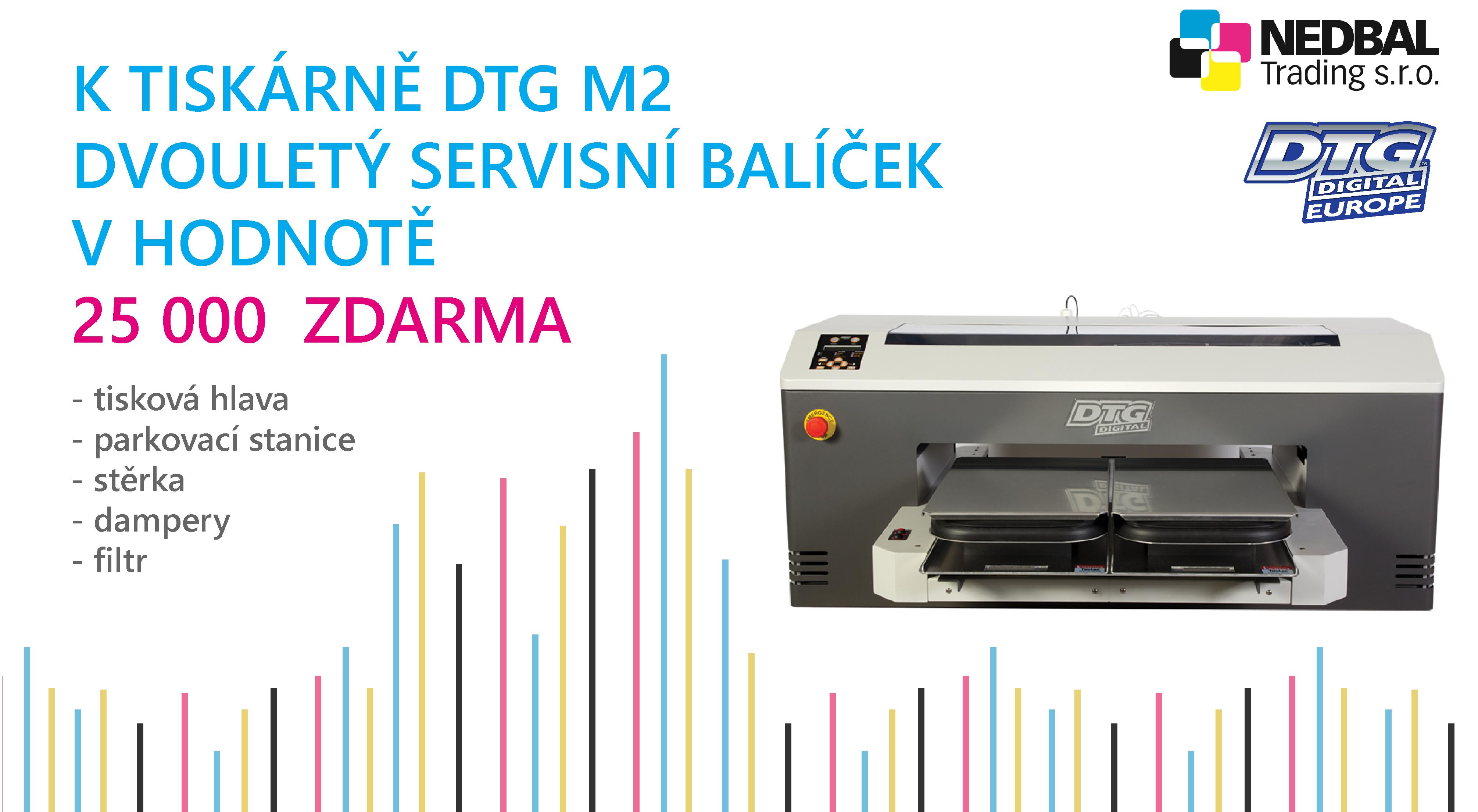 K DTG M2 servisní balíče zdarma