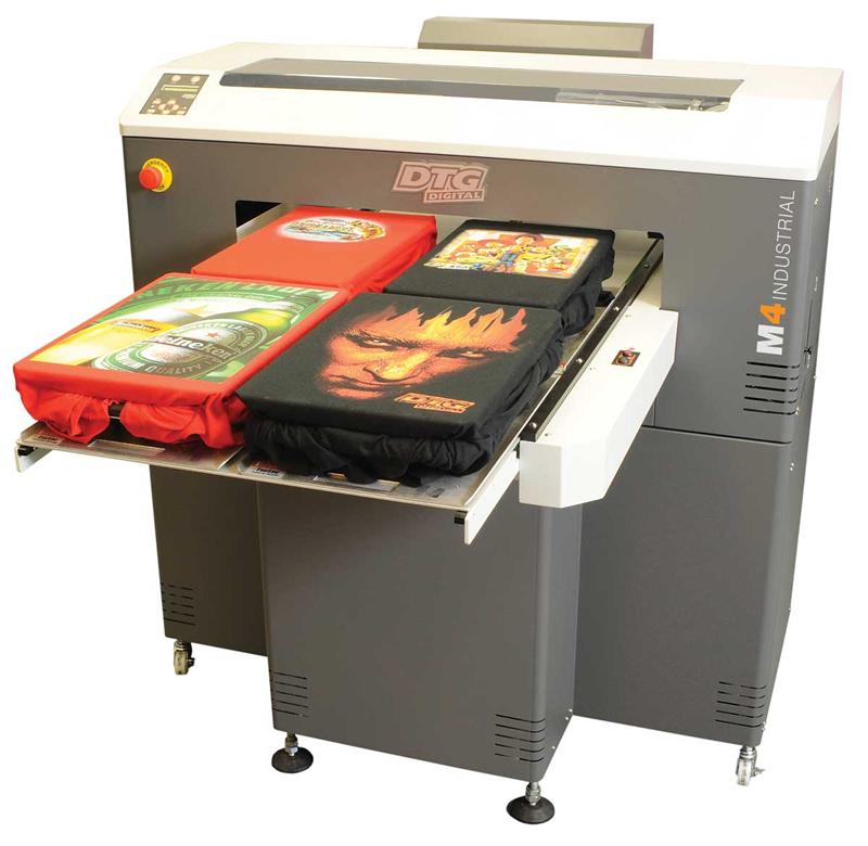 DTG M4 přímý průmyslový tisk na oděvy