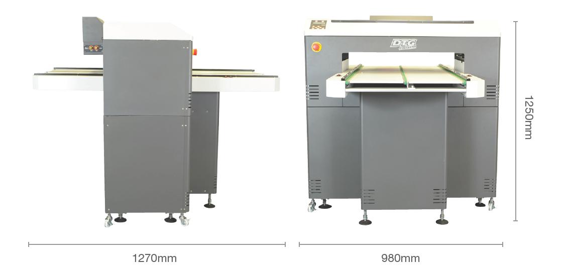 M4 printer dimensions