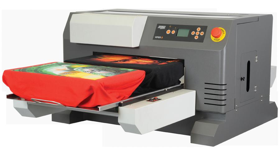 DTG Viper2 Tiskárna pro přímý potisk oděvů a textilu
