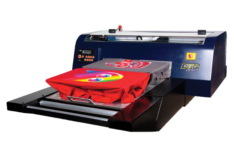 DTG Viper tiskárna pro přímý potisk oděvů a textilu